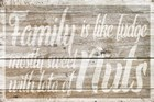 Family is like Fudge by Cora Niele art print