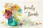 Flower Burst Family and Friends by Lanie Loreth art print