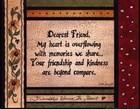 Dearest Friend by Linda Spivey art print