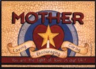 Mother (star) by Linda Spivey art print