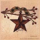 Love by Linda Spivey art print