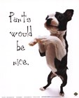 Pants Would Be Nice by Yoneo Morita art print