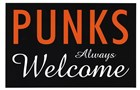 Punks Always Welcome by Kenneth Ridgeway art print