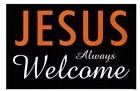 Jesus Always Welcome by Kenneth Ridgeway art print