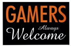 Gamers Always Welcome by Kenneth Ridgeway art print