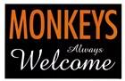Monkeys Always Welcome by Kenneth Ridgeway art print