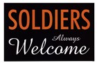 Soldiers Always Welcome by Kenneth Ridgeway art print