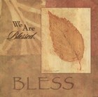 Bless - Leaf by Stephanie Marrott art print
