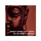 Buddha - iPhilosophy - Peace art print