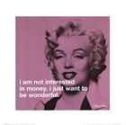Marilyn Monroe - iPhilosophy - Be Wonderful art print
