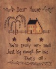Dear House by Kim Lewis art print