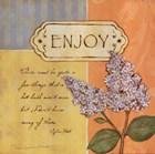 Enjoy by Stephanie Marrott art print