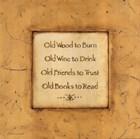 Old Wood To Burn by Stephanie Marrott art print