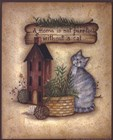 A Purr-fect Home by Mary Ann June art print