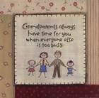 Grandparents by Karen Tribett art print