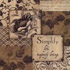 Simplify by Jo Moulton art print