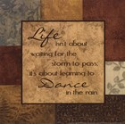 Life's About by Sophie Devereux art print