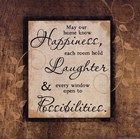 Happiness, Laughter, Possibility by Jennifer Pugh art print