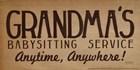 Grandma's Babysitting Service by Lauren Rader art print