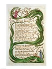The Divine Image, from Songs of Innocence, 1789 by William Blake art print