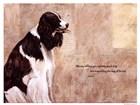 Pretty Good Dog by Elizabeth Hope art print