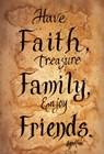 Faith, Family, Friends by Gail Eads art print