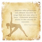 Constant Practice is the Secret of Success art print