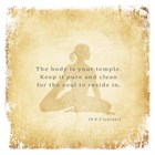 The Body is Your Temple by Veruca Salt art print