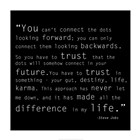 Trust Quote by Veruca Salt art print