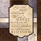 Happy Blossom by Elizabeth Medley art print