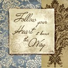 Follow Your Heart by Elizabeth Medley art print