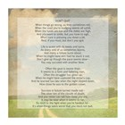 Don't Quit Poem (field) art print