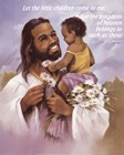 Christ with Child by Beverly Lopez art print