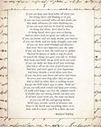 If - Script Border by Rudyard Kipling art print