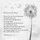 Hamlin Garland - Do You Fear the Wind art print