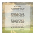 Robert Frost Road Less Traveled Poem art print