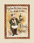 Drink Wine! by Jerianne Van Dijk art print