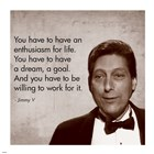 Enthusiasm for Life, Jimmy V art print