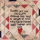 Families are Like Quilts by Lori Maphies art print