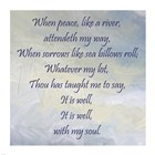 It Is Well With My Soul by Veruca Salt art print