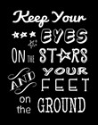 Keep Your Eyes On the Stars by Veruca Salt art print
