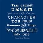 Character quote by Veruca Salt art print