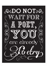 You Are Poetry 2 by Melody Hogan art print