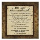 The Ten Commandments by Jennifer Pugh art print