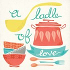 A Ladle of Love by Mary Urban art print