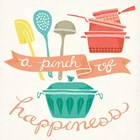 A Pinch of Happiness by Mary Urban art print