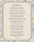 Desiderata Floral Frame Beige by Quote Master art print