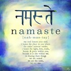 Namaste by Kimberly Glover art print