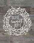 Rustic Home Sweet Home by Jo Moulton art print