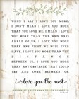 I Love You More by Jennifer Pugh art print
